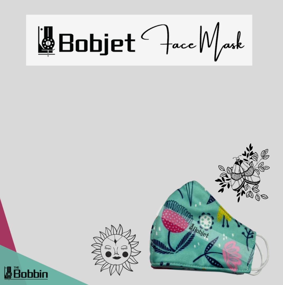 Reusable Printed Face Mask – Bobjet BW04