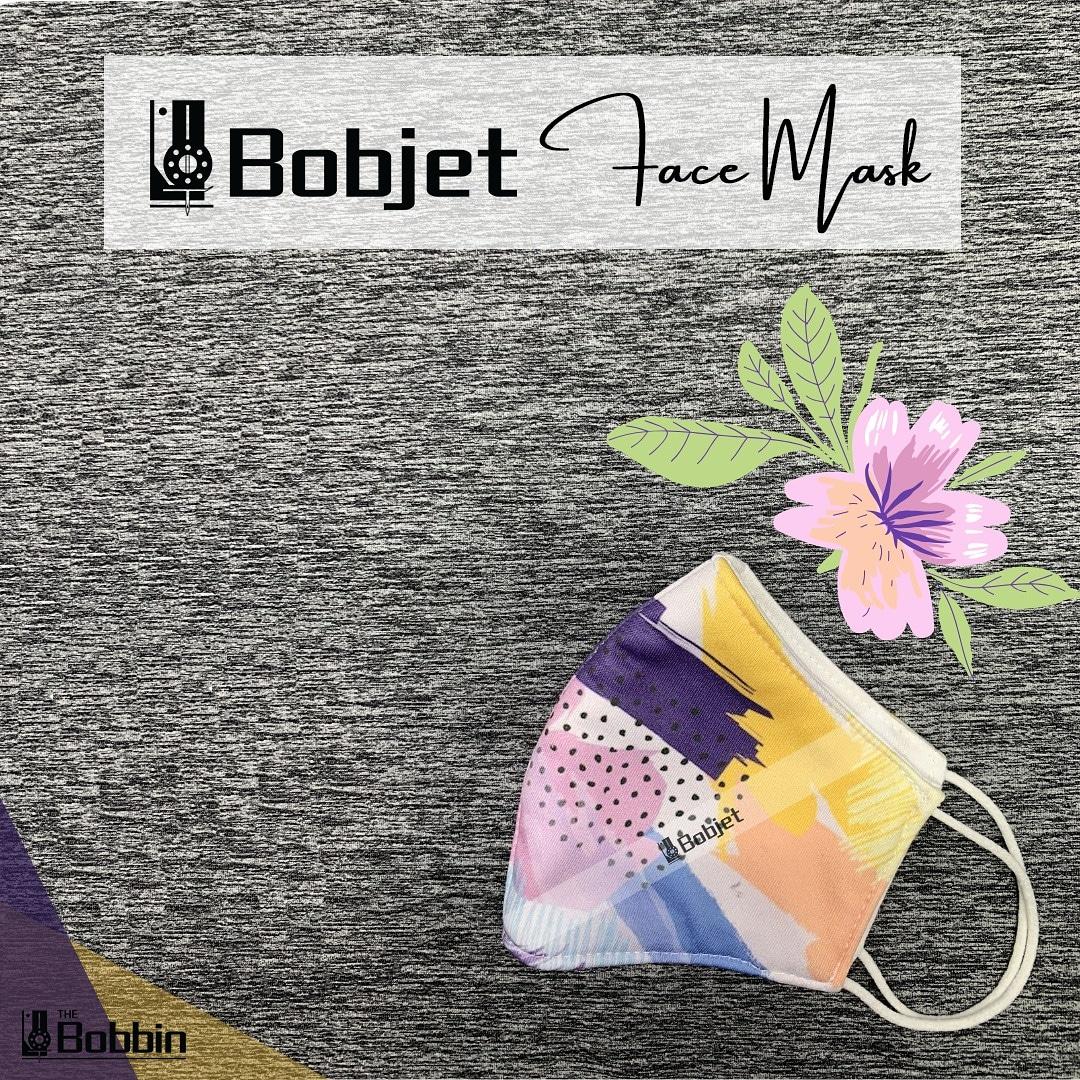Reusable Printed Face Mask – Bobjet BU01