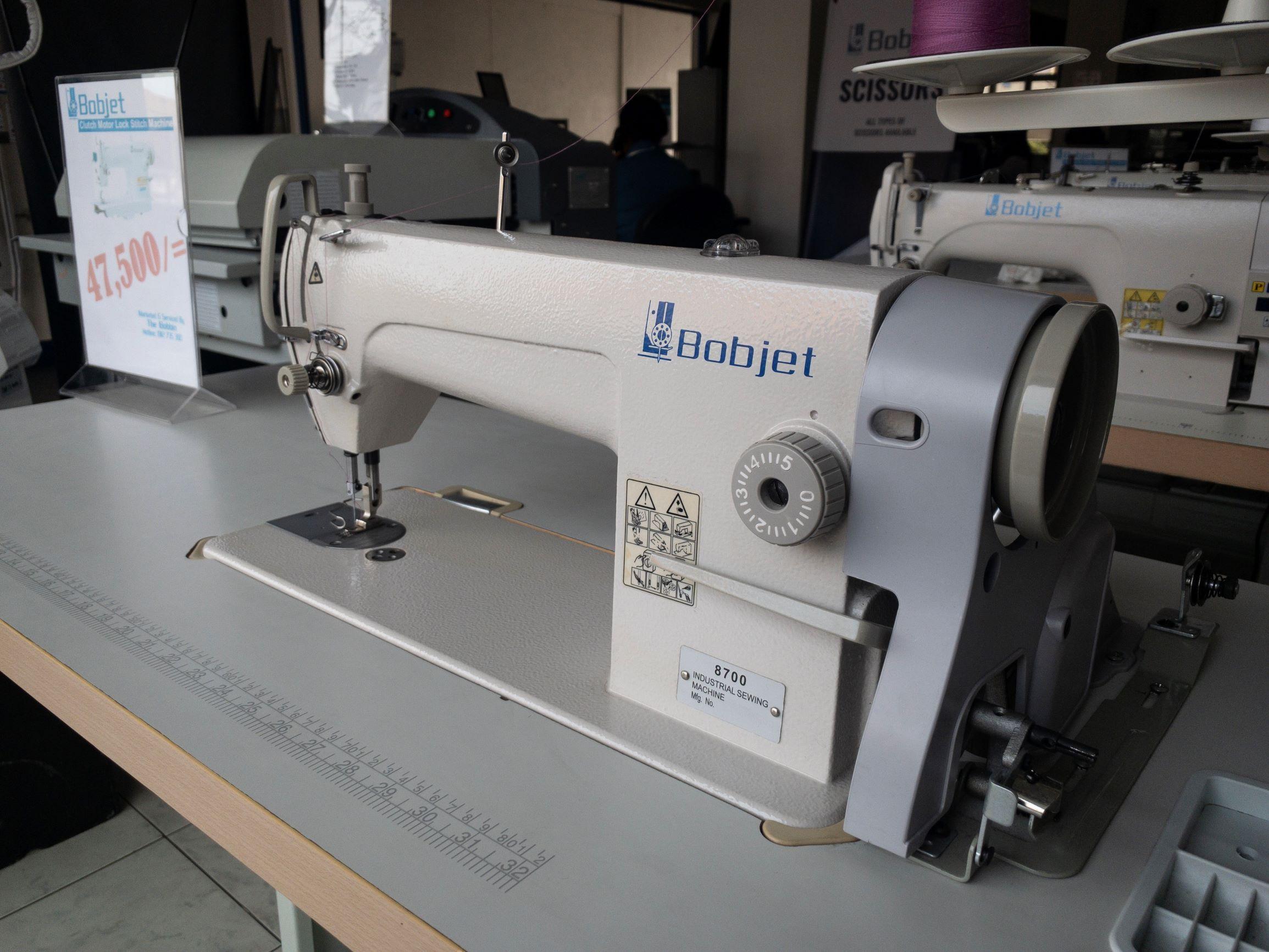 Bobjet Single Needle Clutch Motor